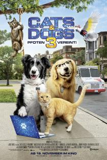 "Poster ""Cats & Dogs 3: Paws Unite!"""