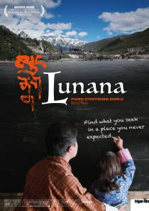 "Poster ""Lunana - A Yak in the Classroom"""