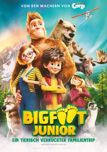 "Poster ""Bigfoot Family"""